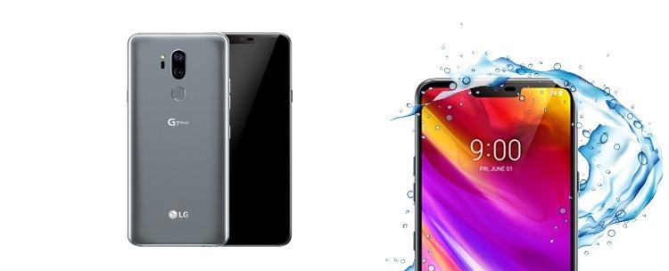 Wasser- und staubdichte LG G7 ThinQ