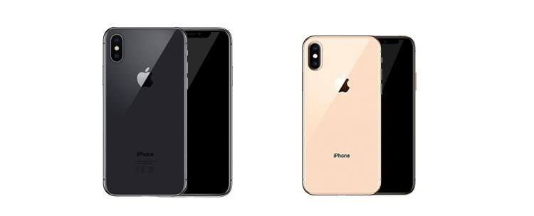 Wasser- und staubdichte Apple iPhone XS und Apple iPhone XS Max