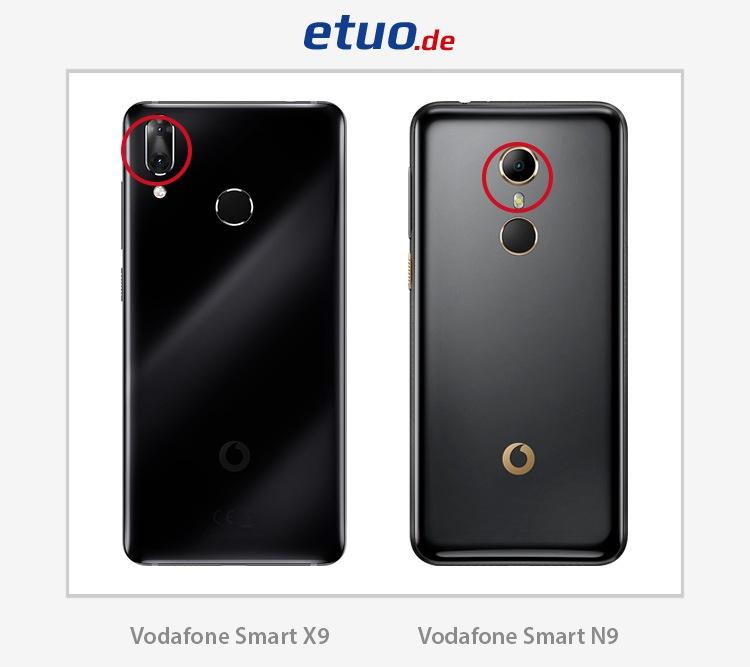 Vodafone Smart N9 und Vodafone Smart X9 – Unterschiede